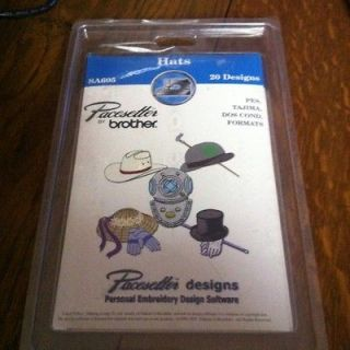 Pacesetter By Brother Hats Embroidery Software