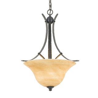 Grey Bronze 3 Light Hanging Pendant/Chande​lier