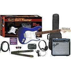 Fender Affinity Special Strat and Frontman 15G Amp Value Pack Metallic