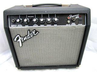 Fender Frontman 15G 15 Watt 2 Channel Powered Practice Guitar Amp