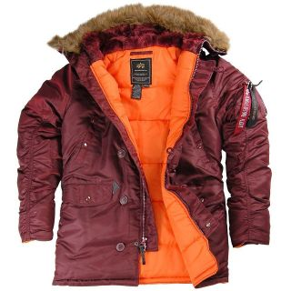 ALPHA INDUSTRIES N3B COLD WEATHER WINTER PARKA SUB FREEZING TEMP