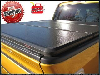 Rugged Hard Solid Folding Tonneau Cover 1982 2012 Ford Ranger 6 ft