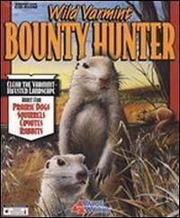 Wild Varmint Bounty Hunter PC CD hunt prairie dogs squirrel rabbits