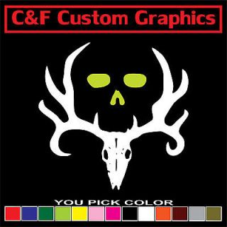 Bone Collector Two Color Car Truck ATV Vinyl Decal 4x4 You Pick