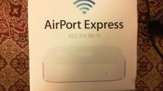 Apple AirPort Express 2 Port 10/100 Wireless N Router (MC414LL/A)