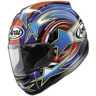 Arai Corsair V Motorcycle Full Face Helmet Edwards Replica #12 Red