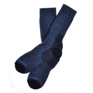 Pairs of Mens Navy Blue Wool Coolmax Walking Socks Hiking
