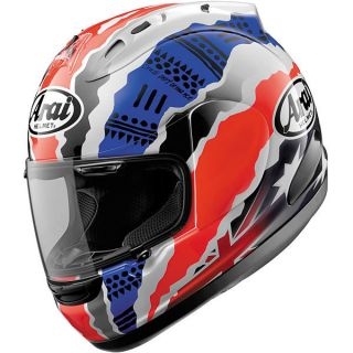 ARAI CORSAIR V DOOHAN HELMET BLUE/RED/WHITE 2XL