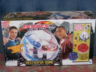 Beyblade Metal Fury DESTORYER DOME Battle Arena Set NEW