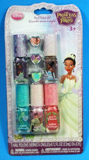 Del Sol Disney Princess Nail Polish Fingernail Color Changing