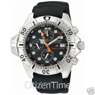 NEW Citizen Aqualand Eco Drive Dive Watch BJ2000 09E