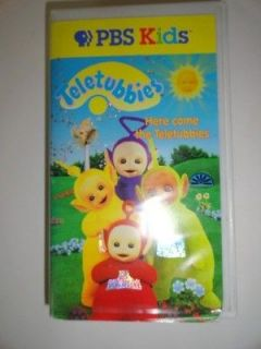 PBS Kids Teletubbies VHS Movie Here Comes The Teletubbies VHTF