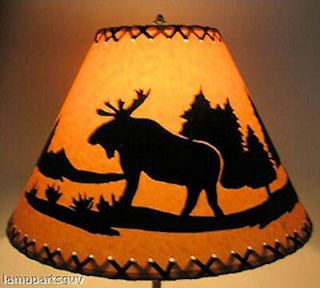 rustic lamp shades in Lamps, Lighting & Ceiling Fans
