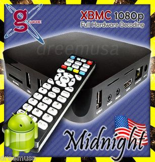 Box *Midnight* Android IPTV Box! A9 M3 CPU, 4GB, 1080p XBMC Web