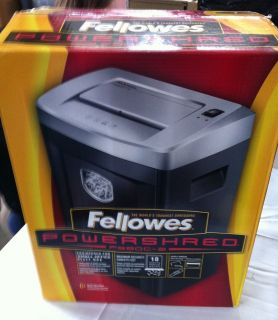 Fellowes Powershred PS80C 2   NEW IN BOX