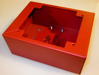 Fire Alarm Pull Station Box Red 5x4x2