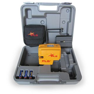 pls 4 horizontal vertical plumb laser level one day shipping