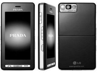 NEW LG PRADA KE850 UNLOCKED GSM MOBILE CELL PHONE BLACK