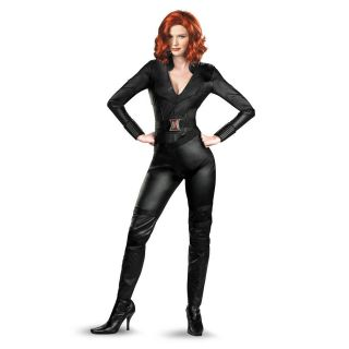 Deluxe Black Widow Adult Costume Size M Medium 8 10 NEW The Avengers
