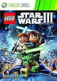 LEGO Star Wars III The Clone Wars (Xbox 360, 2011)