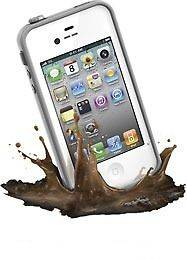 LIFEPROOF iPHONE 4/4S CASE COVER LIFE PROOF 2nd GEN WHITE NEW IN