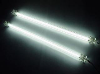 LOGISYS WHITE 12 DUAL COLD CATHODE LIGHT KIT PC Computer CCFL