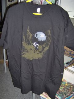 Star Wars/Indiana Jones/Han Solo Mash Up T Shirt Extra Large XL