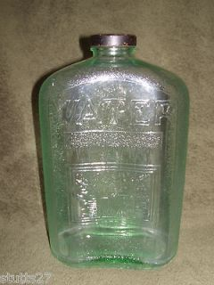VINTAGE REFRIGERATOR WATER BOTTLE 2 QUARTS OWENS ILLINOIS