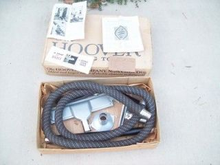 Vintage Antique Hoover Vacuum Cleaner dusting tools kit NICE
