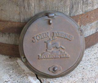 CORN PLANTER LID primitive farm equipment horse drawn rustic decor