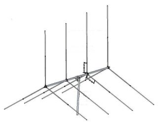GIZMOTCHY G45 4 ELEMENT BEAM ANTENNA 5000W 10 11 METER