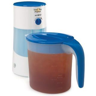 Mr. Coffee TM70 3 Quart Iced Tea Maker Fast Easy