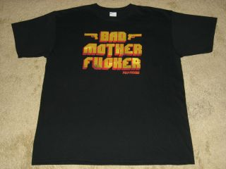 Pulp Fiction Bad Mother F#cker X Large Black T Shirt