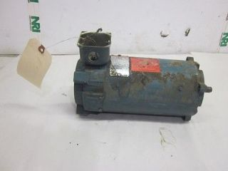 RELIANCE ELECTRIC EF56C PERMANENT MAGNET DC MOTOR 1/2HP 75V 1750RPM 7