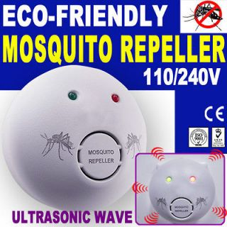 Ultrasonic Mosquito Repeller Repellent Pest Control Electronic Killer