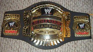 WWE Cruiserweight Championship Title Kids Toy Foam Belt Lot Wrestling