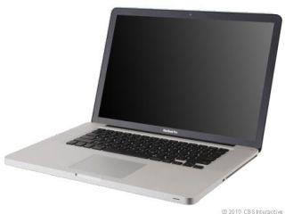 Apple MacBook Pro Laptop A1286 15.4 160GB OS X 10.6