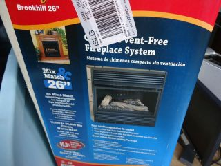 Vent Free Gas Fireplace Propane Natural Gas Ventless Gas Insert