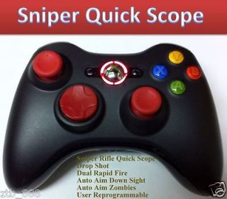 BLACK OPS 2 RAPID FIRE Modded Xbox 360 Controller Sniper quick scope