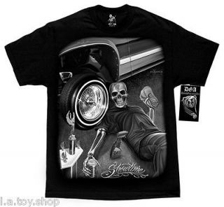 DGA Showtime Lowrider Show Mens T Shirt M 4XL David Gonzales Homies