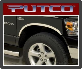 97303 Putco Stainless Fender Trim Dodge Ram Dually (Fits Dodge)