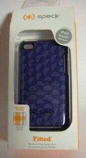 SPECK FITTED PURPLE OCTAGON IPOD TOUCH 4G CASE CHEAP