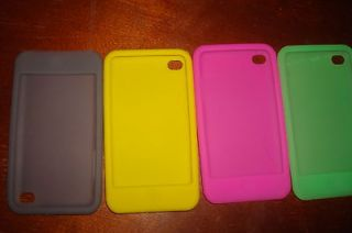 Apple iPod Touch 4g 4th Soft Silicon Covers Case.cheap look nice