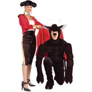 (Female) Adult bull fighter,bull fighter,bullfighter,matador,two