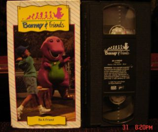 FRIENDS BE A FRIEND VHS TIME LIFE HTF RARE #05 Video OOP COLLECTION