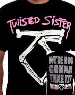 TWISTED SISTER were not gonna take it T SHIRT NEW S M L XL authentic