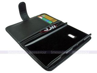 Newly listed Black Leather Case Wallet for Nokia Lumia 900 Inner Card