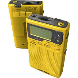 America Digital AM/FM Weather Emergency Alert Pocket Radio Digital