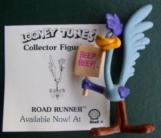 Warner Brothers Loony Tunes Road Runner Collector Figurine Cake Topper