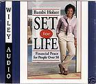 BAMBI HOLZER SET FOR LIFE 3 CD AUDIOBOOK 2000 wiley